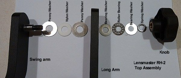washer bearing sequence